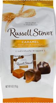 Russell Stover Caramel Mini Gusset Bag