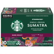 Starbucks Sumatra K-Cups