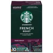 Starbucks Dark French Roast Coffee K-Cups