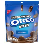 Nabisco Oreo Thins Bites Fudge Dipped Original