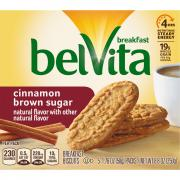 Nabisco BelVita Cinnamon Brown Sugar Breakfast Biscuit