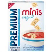 Nabisco Original Mini Premiums Saltine Crackers