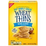 Wheat Thins Hint of Salt