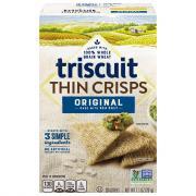 Nabisco Triscuit Thin Crisps Original