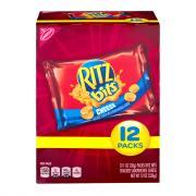 Nabisco Ritz Bitz Cheese Crackers Munch Pack