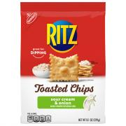 Ritz Toasted Chip Sour Cream & Onion