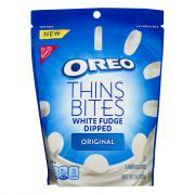 Nabisco Oreo Thins Bites White Fudge Dipped