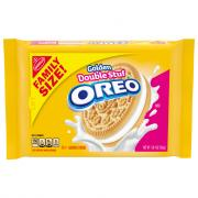 Nabisco Family Size Golden Double Stuf Oreo