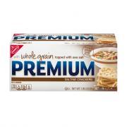 Premium Whole Grain & Sea Salt Crackers