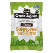 Once Again Organic Sunflower Seed Butter Squeeze Pack