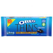 Oreo Thins Dark Chocolate Flavor Creme Family Size