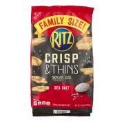 Ritz Crisp & Thins Sea Salt Family Size
