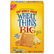 Nabisco Big Wheat Thins Crackers
