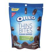 Nabisco Oreo Thins Bites Fudge Dipped Mint