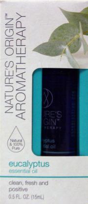Nature's Origin Aromatherapy Eucalyptus Essential Oil