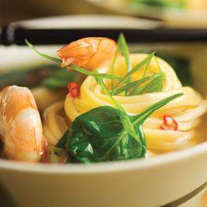 Teriyaki Shrimp Hot Pot