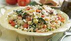 Warm Orzo Salad