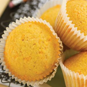 Cheesy Corn Muffins