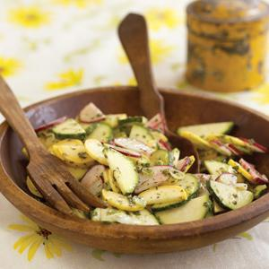 Lanni Orchards Summer Squash Salad