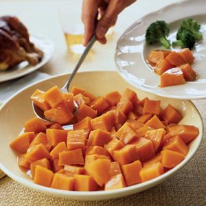 Apple Glazed Sweet Potato