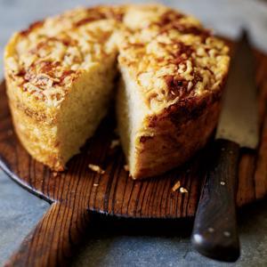 Parmesan Potato Batter Bread