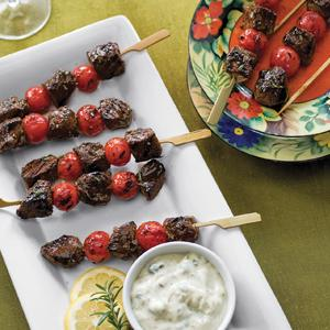 Middle Eastern Lamb Kabobs