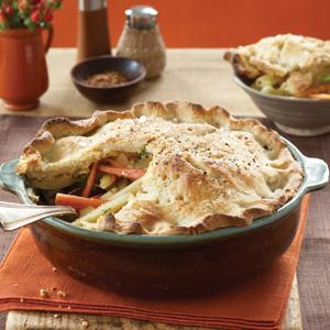 Winter Root Vegetable Potpie with Cream Cheese Crust