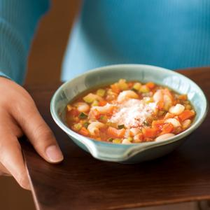 Roasted Minestrone Soup