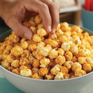 Southwestern Cheese Popcorn