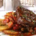 Beef Sirloin with Oven Roasted Vegetables