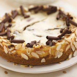 Chocolate Orange Almond Cheesecake