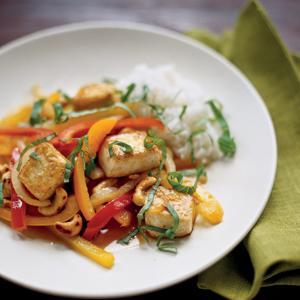 Spicy Tofu with Cashews