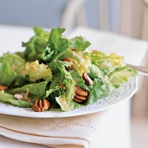 Escarole Salad with Champagne Vinaigrette