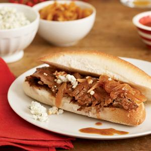 Ale-Braised Brisket and Onion Sandwiches