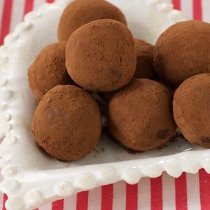 Deep Dark Chocolate Truffles