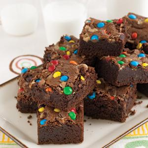Hot Fudge Candy Shop Brownies