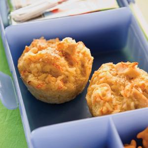 Chicken and Rice Muffins