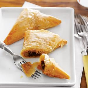 Savory Sun-Dried Tomato Triangles