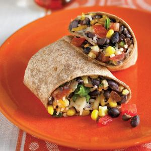 Black Bean Chipotle Burritos