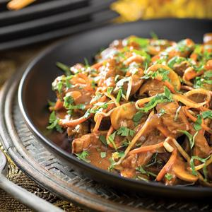 Thai Coconut Beef Stir-Fry