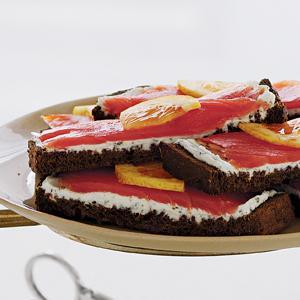 Jasmine Salmon Sandwiches
