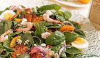 Spinach Salad with Oranges and Shrimp