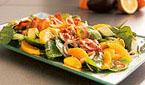 Wilted Spinach Salad with Orange and Avocado