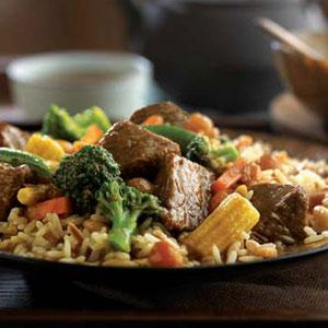 Asian Braised Beef with Vegetables