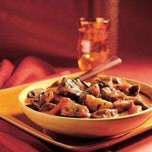 Wild Mushroom Beef Stew