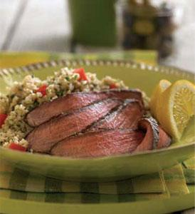 Grilled Beef and Tabbouleh Salad