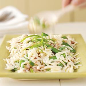 Sugar Snap Pea and Orzo Salad