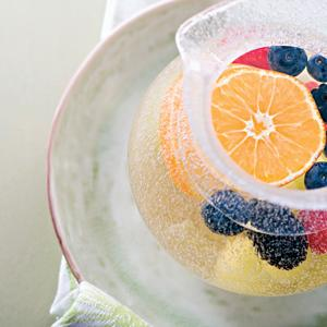 Freezer Fruit-Punch Sparkler