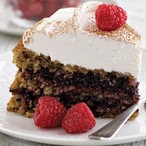 Raspberry Rye Torte