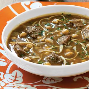 Moroccan Beef Harira Soup